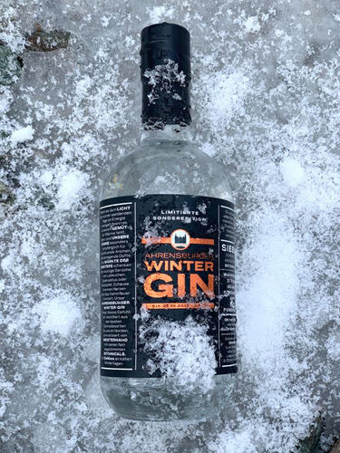 Ahrensburger WINTER GIN 0,5L 47% Refilled